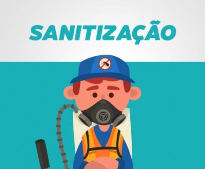 Sanitização Contra Vírus, Fungos e Bactérias